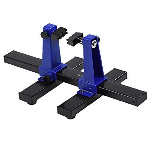Placa de circuito de mantenimiento del accesorio giratorio de soldadura abrazadera del asiento PCB Junta sostenedor de la abrazadera del circuito, Electrónica Herramientas de soldadura
