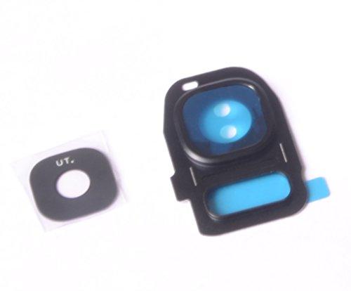 Cámara Lente marco Camera Cristal Lens fotográfico Samsung Galaxy S7Edge Negro
