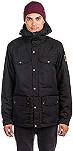 Fjällräven Herren Greenland Winter Jacket M Sport, Black, S