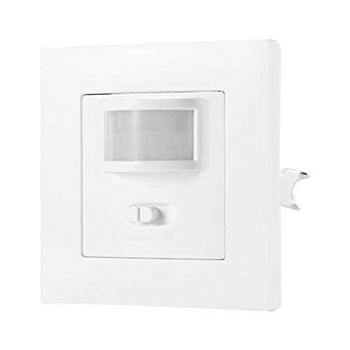 GUODONG MAYE2021 Interruptor infrarrojo del Sensor de Movimiento PIR PVC empotrada Lámpara de Pared Interruptor Bombilla Encendido/Apagado y PIR Interruptor de la Bombilla Interruptor Surtido
