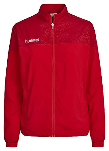 Hummel Damen Jacke Sirius Micro Jacket, True Red/Chili Pepper, L