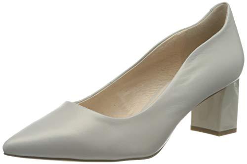 Caprice Damen Gillian Pumps, Grau (LT Grey Perla. 241), 37 EU
