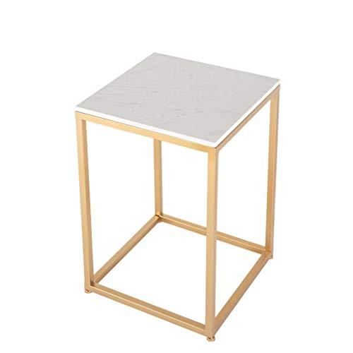 LYN Bijzettafel, sofa bijzetstoelen tafel salontafels marmeren look tabel eenvoudig woonkamer snack tabel