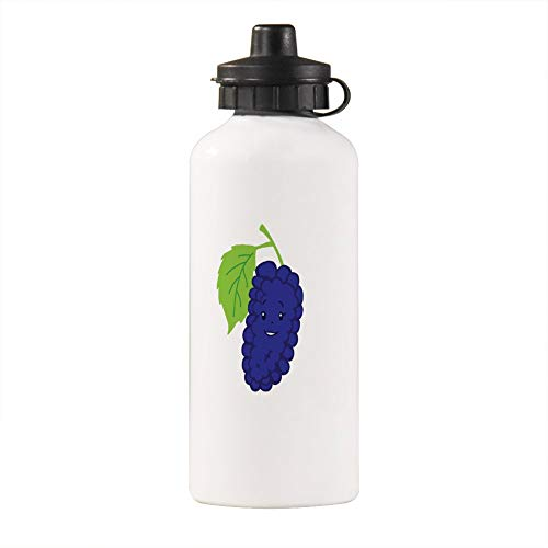 No branded Lovely Animals Outdoor Portable Sports Bottle Aluminum Alloy Kids Water Bottle Cartoon Animal Pattern Kettle Berries Mullberry