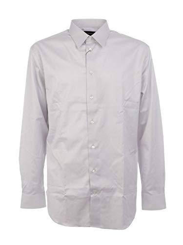 Emporio Armani Luxury Fashion Herren W1CM5LW1C45600 Weiss Baumwolle Hemd | Frühling Sommer 20