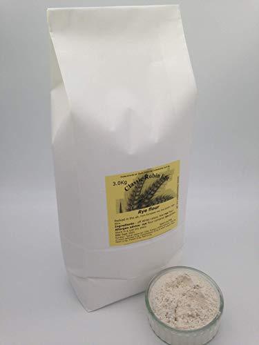 Rye Flour - White - 3.0kg