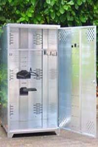 Döring Metallschrank Universal, Sattelschrank Big Western 160x75x90 cm