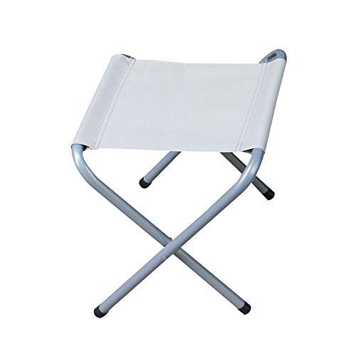 VA-DESK Mesa de Comedor Centro de Mesa portátil al Aire Libre, mesas Plegables, Delgadas, livianas, de Mesa de Picnic, adecuadas for la Pesca (Color : Folding Chair, tamaño : Free Size)