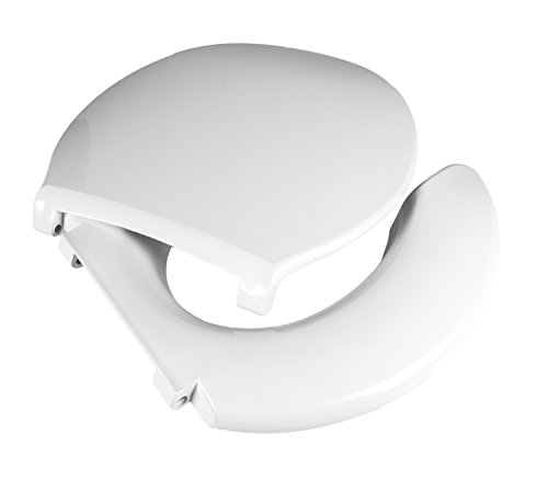 Product Image of the Big John Toilet Seat 2445263-3W Open Front With Cover Bariatric Toilet Seat