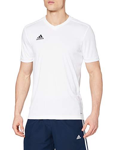 adidas Herren TABELA 18 JSY T-Shirt, White/White, XS