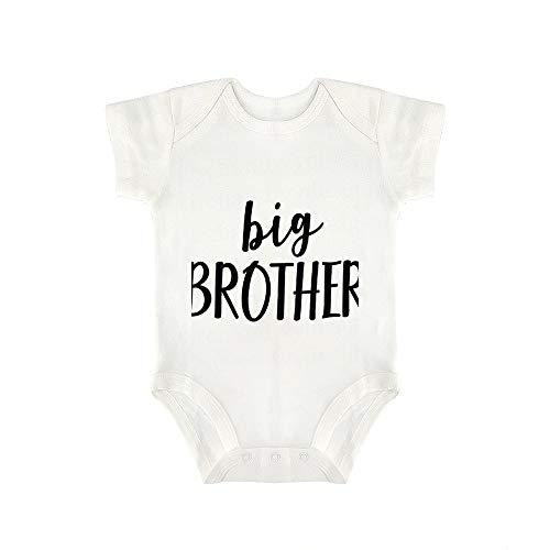 Promini Lindo Bebé Onesie Gran Hermano Bebé Body Bebé Una Pieza Mameluco El Mejor Regalo Para Bebé