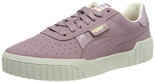 Puma Damen Cali Nubuck Wn's' Sneaker, Violett (Elderberry 02), 37.5 EU