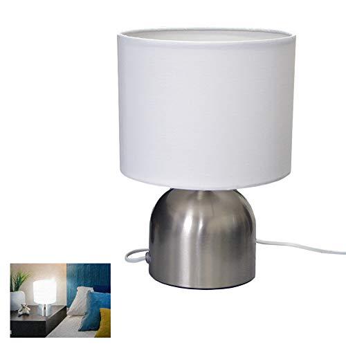 Druline Lampada da Tavolo Luce Dolce Sensore Tocco Toccare 25W E14 Versione…