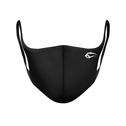 5x Smilodox Behelfs- Mund- und Nasen Bedeckung Staub Mundtuch Fashion Unisex, wiederverwendbare und waschbare, Größe:5 Stück