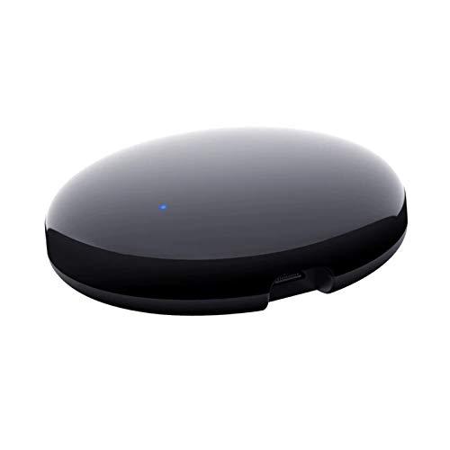Blesiya IR Blaster Controlador WiFi IR Centro de Control Universal Blaster repetidor infrarrojo Centro Compatible con IFTTT para TV/DVD de CA - 6,4 cm Ronda