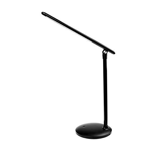 Lámpara de Escritorio Plegabl Control Táctil Regulables 3 niveles regulables Lámpara de Protección Ocular Puerto Carga USB La luz natural protege los ojos lamparas de escritorio para estudiar,Blanco