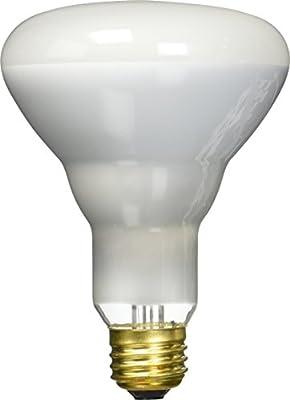 Westinghouse Lighting 0423500, 65 Watt, 130 Volt Frosted Incand BR30 Light Bulb, 2000 Hour 650 Lumen