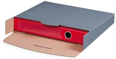 Ordnerversandbox A4 (210x297x80mm) grau 20 Stück
