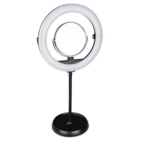 TAFELRINGLICHT selfie ringlamp statief live licht voor mooie foto's of videoshots, live streaming, portret, schminken enz.
