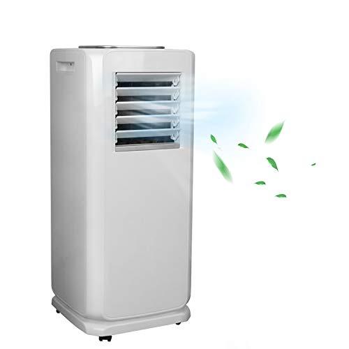 BMOT Aire Acondicionado Portátil, WiFi, 7000 BTU/h, Refrigeración, Deshumidificador, Ventilación, Ventilador con material de montaje, control remoto y temporizador de 24 horas, Oficina, Interior