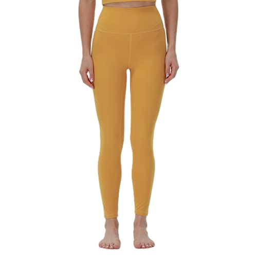 Yoga Pantalones de Yoga Sexy para Mujer Anti-Sentadillas Medias de Fitness de Cintura Alta Estiramiento Pantalones Deportivos al Aire Libre de Secado rápido G L