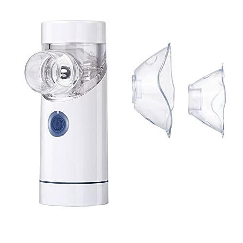Timagebreze Inhalador PortáTil de Mano, Nebulizador, Atomizador de Malla, Nebulizador AutomáTico Recargable, Atomizador, Inhalador