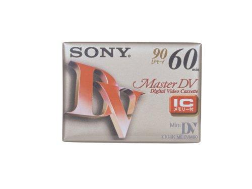 SONY DVM60MM3 ミニDVカセット 60分 Master DV ICメモリー