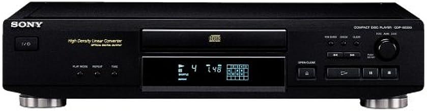 Sony CDP-XE220/B - Reproductor de CD, color negro: Amazon.es ...