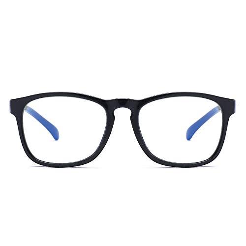 Gafas antiluz azul para niños y niñas, gafas cuadradas, para reducir la fatiga ocular