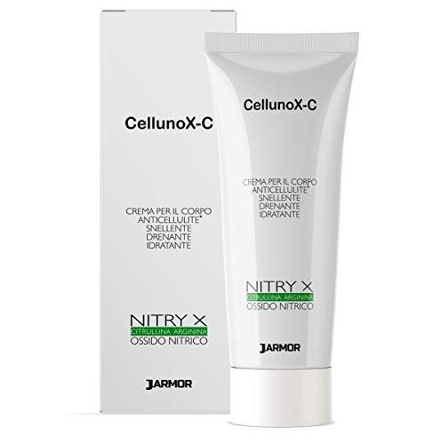 Jarmor Crema Corpo Anticellulite Professionale CellunoX-C Rassodante Drenante con NITRY X 200ml