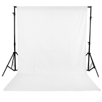 SHOPEE BRANDED 8 x12 FT WHITE LEKERA BACKDROP PHOTO LIGHT STUDIO PHOTOGRAPHY BACKGROUND