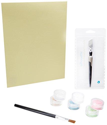 Silhouette America GT1901114 Starter Kit mit doppelseitig klebendes Papier