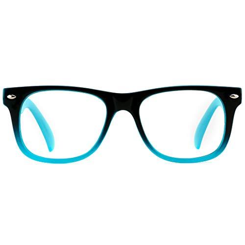 TIJN Blue Light Glasses for Kids Cute Eyewear Computer/Gaming/Reading Safety Blue Light Blocking Glasses Girls Boys