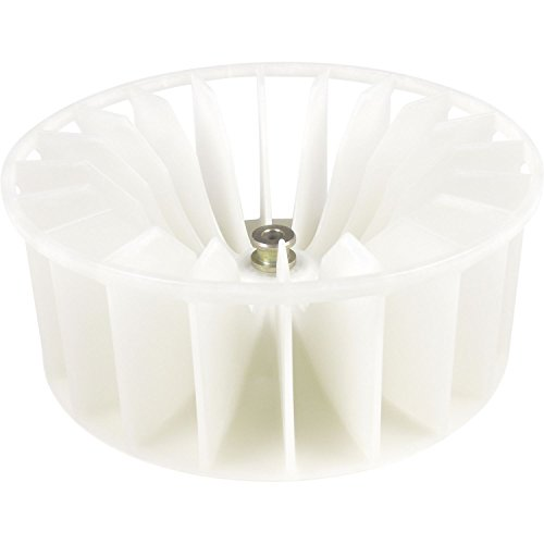 Ventilador de rueda de ventilador de aire caliente secador blanco Miele 1675546