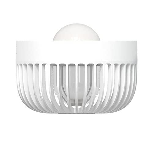Gmjay Lámpara LED Insect Killer Control de Plagas Repelente de Plagas Mosquito Zapper Eléctrico,White