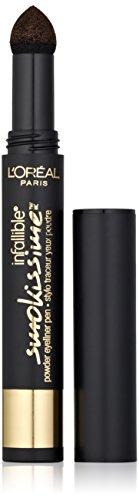 L'Oreal Paris Infallible Smokissime Powder Eyeliner, Brown Smoke 702, 0.0