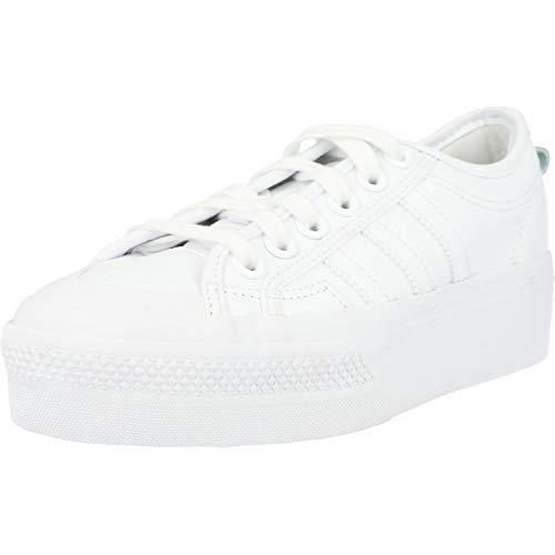 adidas Originals Sneaker Nizza Platform W FW0265 Weiss, Schuhgröße:38 2/3