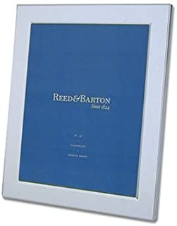Reed & Barton Classic Channel 8-by-10-Inch Silver-Plated Picture Frame - 1480