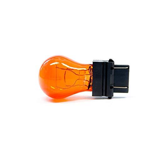 50 X W2.5x16q PY27/7W 3157 Bombilla Coche Intermitente Amarillo Naranja 12 Voltios