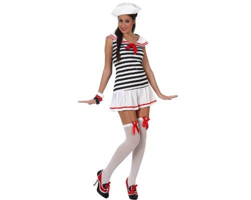 Atosa - Disfraz de marinero sexy para mujer, talla M/L (97038)