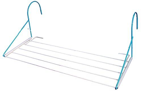 IMEX EL ZORRO Tendedero plástico Extensible, 400 x 6 x 3750 mm, Compuesto, Negro, 120.00x80.00x15.00 cm