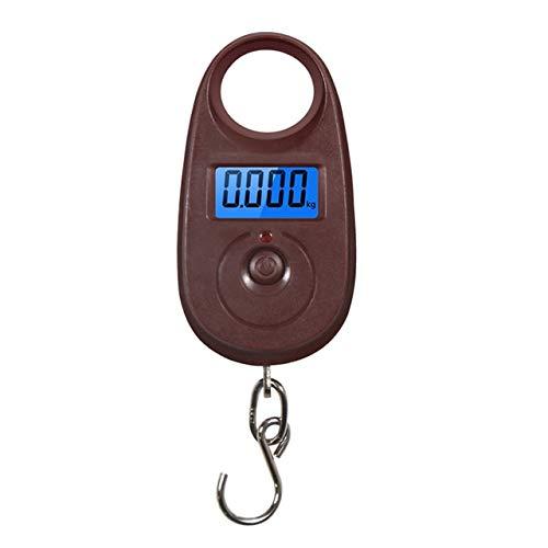 50Kg 10G Mini Balanza Digital Colgante para Equipaje De Pesca Ponderación De Viaje Steelyard Electronic Hook Scale Kitchen Weight Tool2