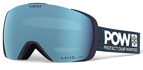 Giro Snow Herren Contact Skibrille, Protect Our Winters Vivid royal/Vivid Infrared, Einheitsgröße