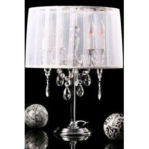 Ikko Design - Lampe de Table Pierce Couleur Blanc