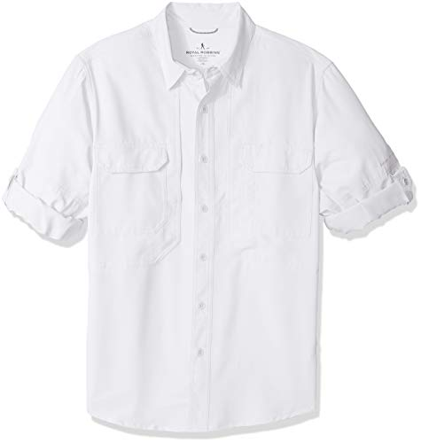 Royal Robbins Expedition Chill Chemise à Manches Longues pour Homme Blanc Taille S