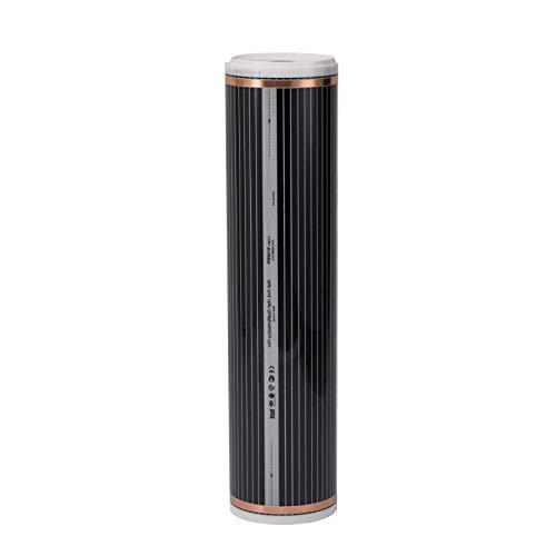 Fussbodenheizung elektrisch 2m² für Laminat Parkett Echtholz Vinyl auf HDF