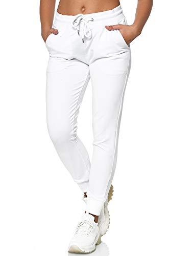 MERISH Jogginghose Damen Jogginganzug Jogger Frauen Trainingshose Slim Fit 278 (L, 278 Weiß)