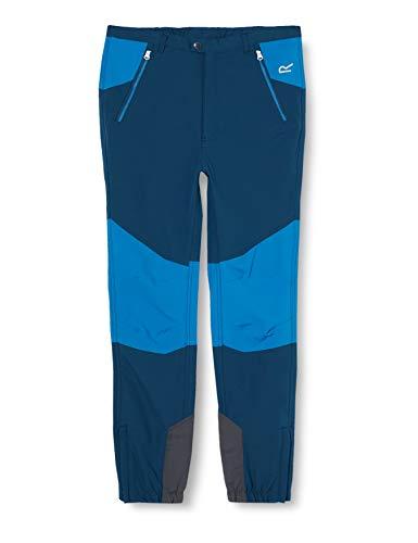 Regatta Unisex Kinder Tech Mountain Hose Isoflex Durazone Polymid Overlays mit strapazierfähiger wasserabweisender Oberfläche XL blau