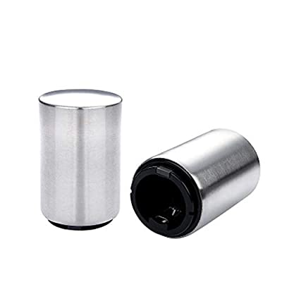 Beer Bottle Opener with Magnet Stainless Steel Bottle Opener Funny Gifts For Men Kitchen Gadgets