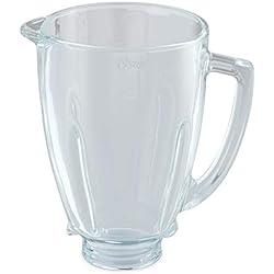 Oster - batidora de vaso Clásica 600W y jarra de vidrio redonda ...